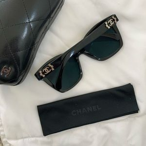 Chanel Butterfly Style Sunglasses